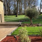 Terrasse, gazon, plantation Legoupil Paysage