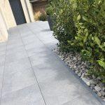 Terrasse sur plot carrelage Legoupil paysage